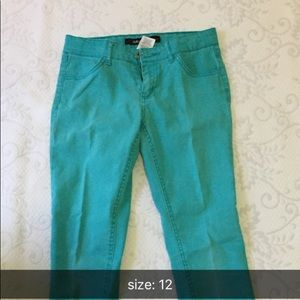 Sz 5 Gymboree Boys NEW Green Pants Canvas MSRP $30 Jazzy /& Colorful 100/% Cotton